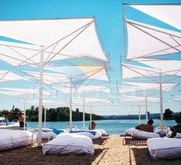 Креативные пляжные зонты, Днепропетровск