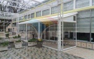 Мягкие окна для террасы развлекательного комплекса ШADE