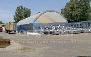 """Ангар под склад для компании """"Центр-Сетка"""""""