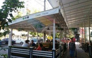Летняя площадка эко- кафе «Green House»