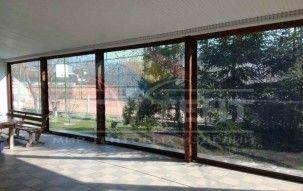 Мягкие окна на дачу