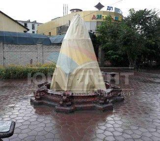 Чехол на фонтан