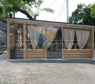 Мягкие окна для летней площадки ресторана «Кabanos»