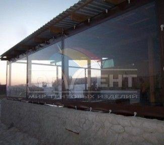 Мягкие окна для летнего кафе на море