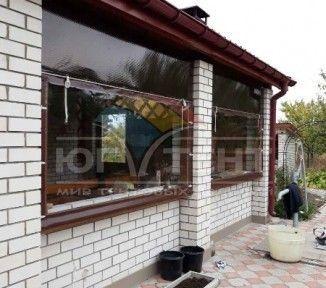 Мягкие окна для летней кухни