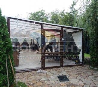Мягкие окна для летней площадки ресторанного комплекса «Лесной Хутор»