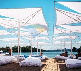 Солнцезащитные пляжные зонты