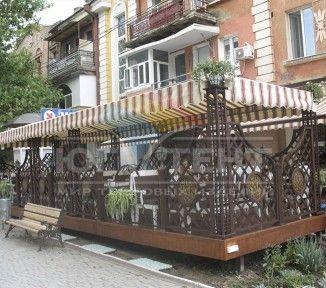 Летняя площадка для кафе