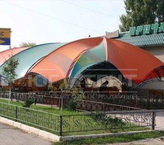 Летняя площадка кафе «Причал»